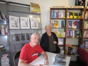 Avec Suzanne, une de mes fidèles lectrices