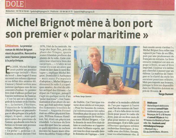 Morrison's Jig - Article Le Progrès - Lundi 4 juin 2012