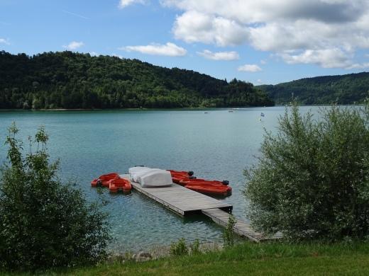 Lac de Vouglans (Jura)
