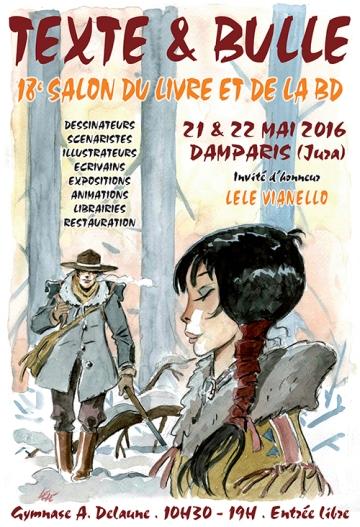 Salon Texte et Bulle - Damparis (Jura) - 21 mai 2016
