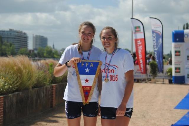 Marianna Joly et Mathilde Cavard - Vichy - 3 juillet 2016