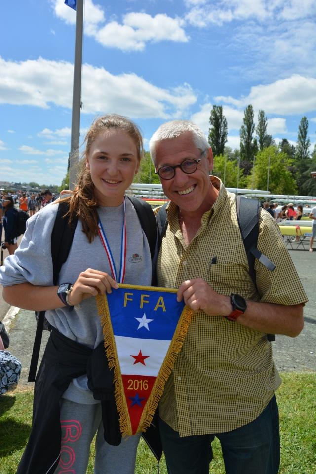 Marianna Joly et moi - Vichy - 3 juillet 2016