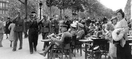 Paris sous l'occupation - 14 juillet 1940