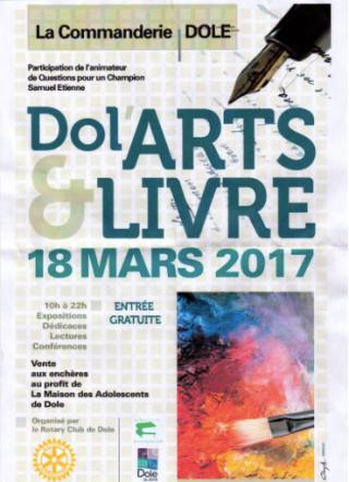 Dole Arts & Livre - Dole - 18 mars 2017