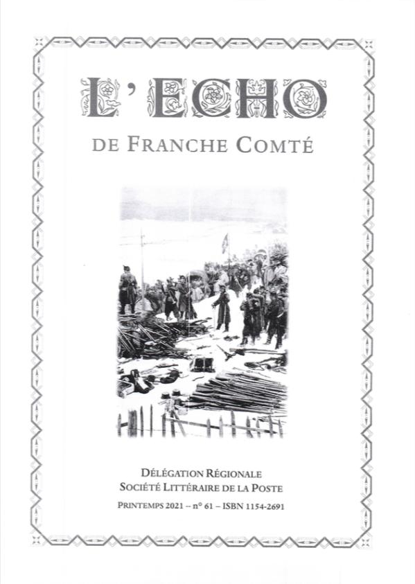 L'Écho de Franche-Comté - Printemps 2021 - N°61 - Michel ...